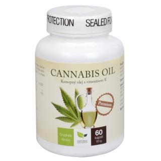 Cannabis oil 60 kapsúl